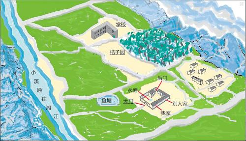 与母亲分离21年 26岁小伙手绘家乡地图来湖南寻亲