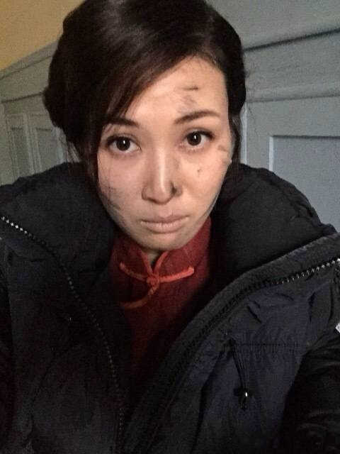 童蕾晒脏妆自拍照 为角色不顾形象(图)_娱乐频道 ...