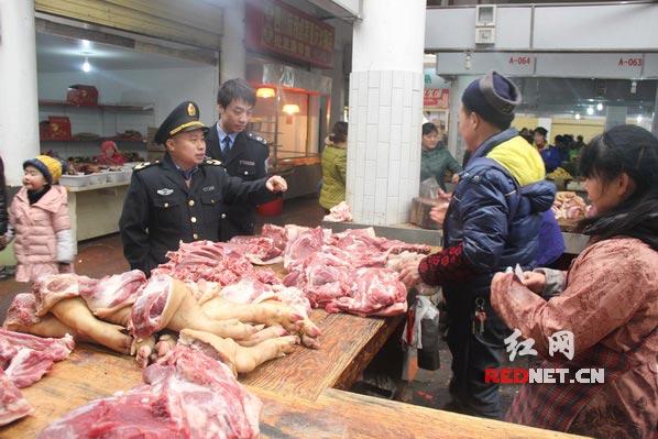 询问猪肉进货渠道
