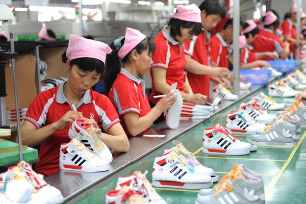 鞋业_兴昂鞋业年产鞋300万双 双峰经开区成\