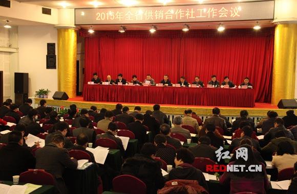 """湖南省供销合作社工作会议长沙召开,要求将供销合作社打造为""""三农""""提供综合服务的骨干力量。"""