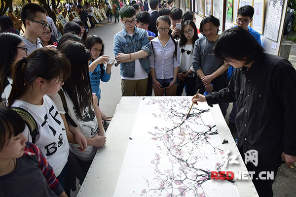 幼儿樱花剪纸步骤图解