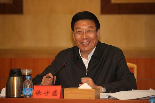 湖南省委书记、省人大常委会主任、省委网络安全和信息化领导小组组长徐守盛作重要讲话。