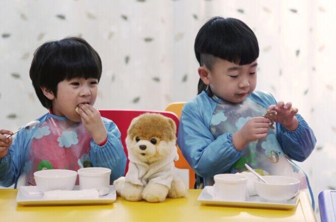 《爱上幼儿园》刘羿辰和姚子枫