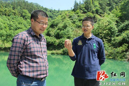 高靖生在王家山水库调研