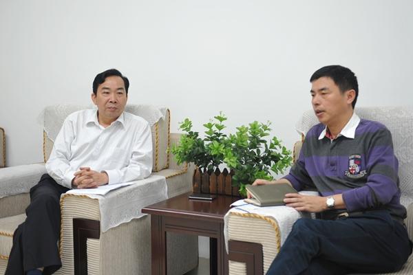 """【""""两个责任""""书记谈】专访湖南农业大学党委书记周清明"""