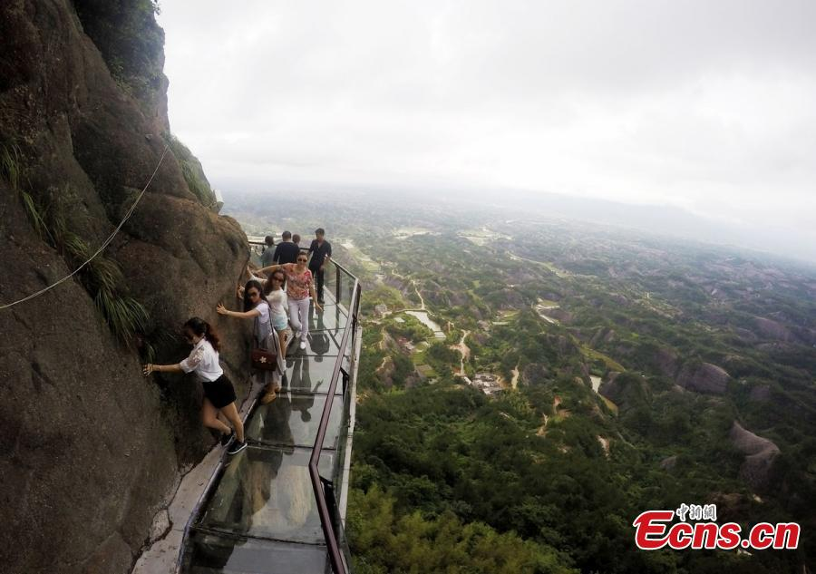 Play a melody while walking on musical cliff road