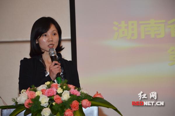 湖南一力股份有限公司执行总裁李红霞