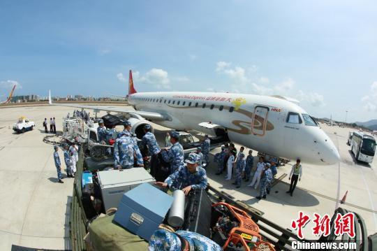 公司决定从海口调配飞机和机组前往三亚,执行三亚飞往武汉的救援航班