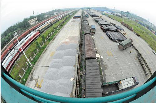 火车货运 客户上网即可办理货运业务