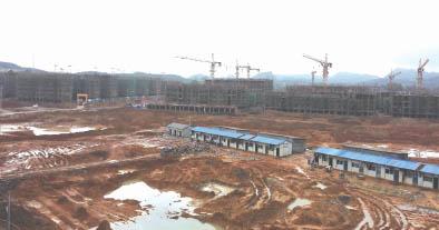 江华涔天河水库走访见闻工程安置点扩建移民视频科技的感图片