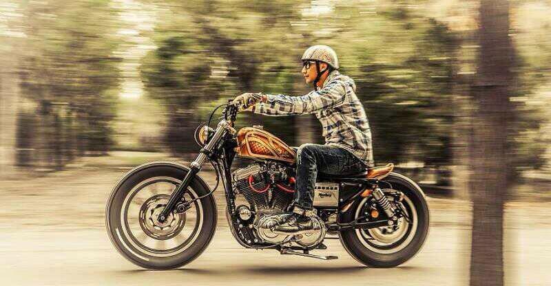 现代匠人摩托车改装师亮相微纪录片《尚技·人