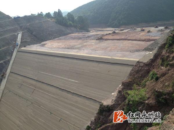 涔天河高程扩建断面水库全小学达到278.6米大坝作业工程优秀设计图片