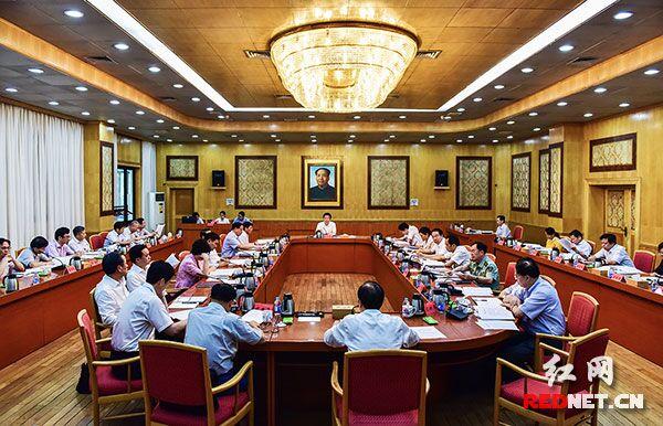 湖南省委全面深化改革领导小组举行第十二次会议