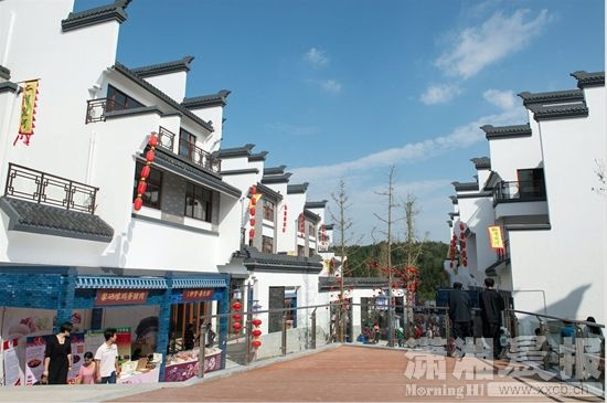 建设浔龙河生态艺术小镇