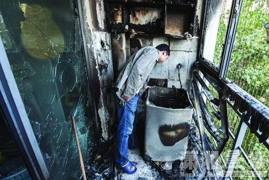 起火洗衣机后阳台启动了30gl图纸机芯图片