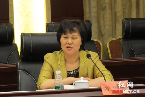 省委常委、省委统战部部长黄兰香在郴州调研统战工作