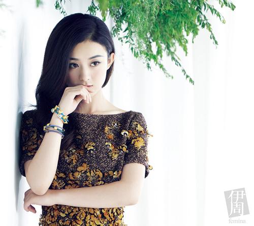 赵丽颖2017杂志封面