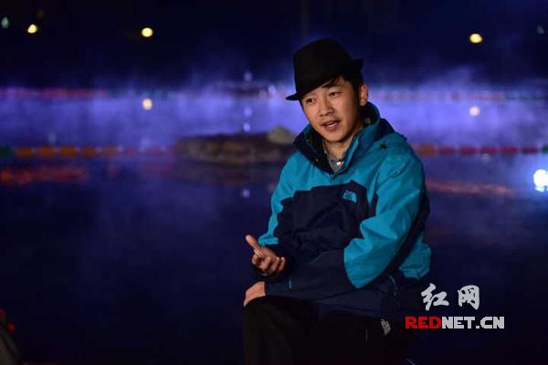 王乔接受红网专访