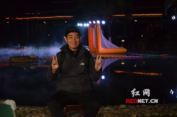 央视少儿频道节目主持人霍小雷接受红网专访。