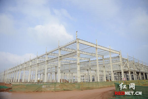 在建的格力绿色化工厂