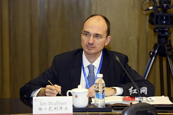 世界银行副行长扬·瓦利泽尔。