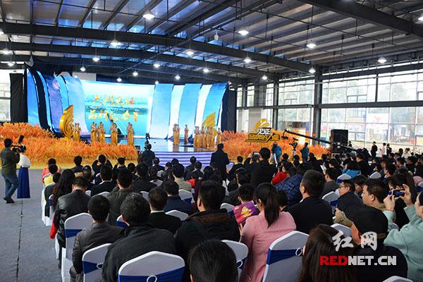 今日下午,2015中国中部(湖南)农博会企业风采巡礼在长沙红星国际会展中心举行。