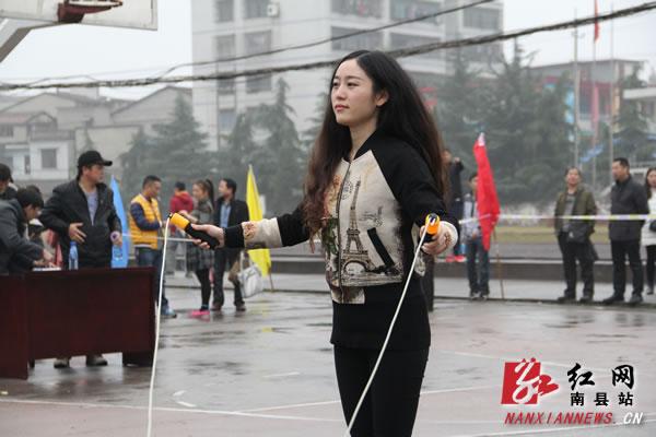 南县举行首届教师跳绳比赛