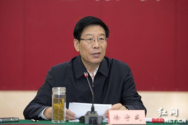湖南省委书记、省人大常委会主任徐守盛。