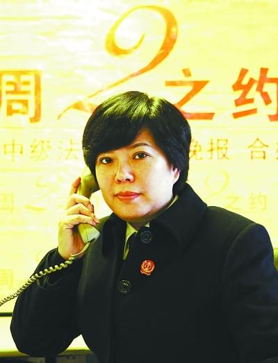 法官王东红记者杨少昆摄