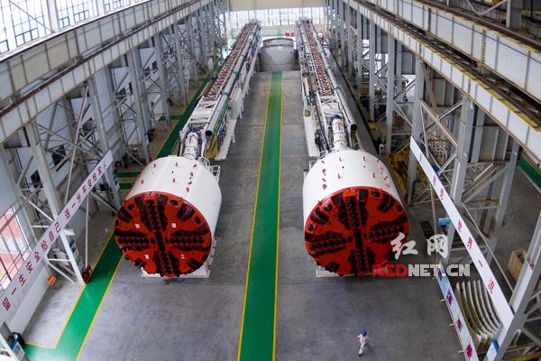 铁建重工盾构装备生产车间