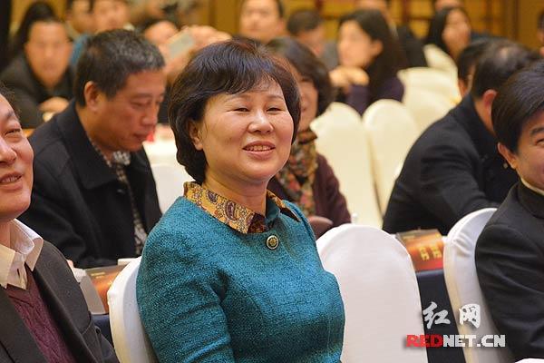 湖南省委常委、省委统战部长黄兰香出席会议。