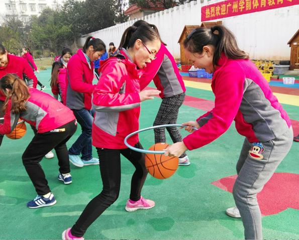 长沙一幼儿园首次引进学前篮球教育项目
