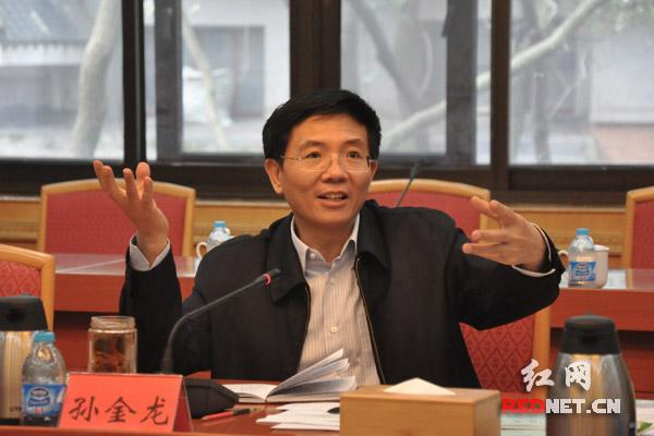 湖南省委副书记孙金龙出席并讲话。