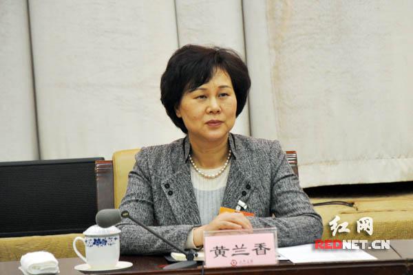 湖南省委常委、省委统战部部长黄兰香出席。
