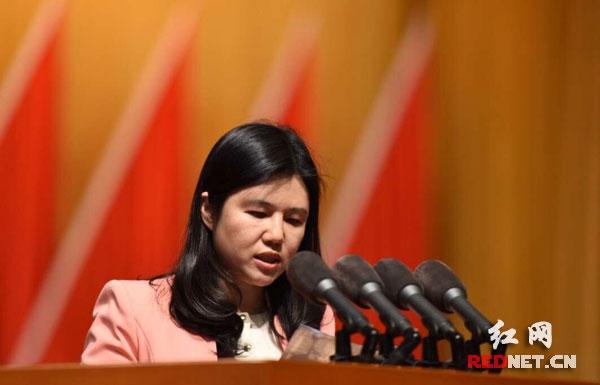 湖南省政协委员冯海燕作《5项务实举措点燃青年创新