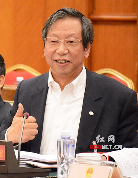 全国人大代表、湖南长丰集团董事长李建新。