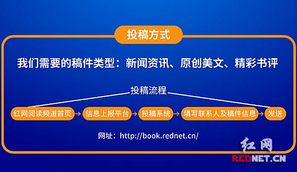 红网阅读频道投稿方式。