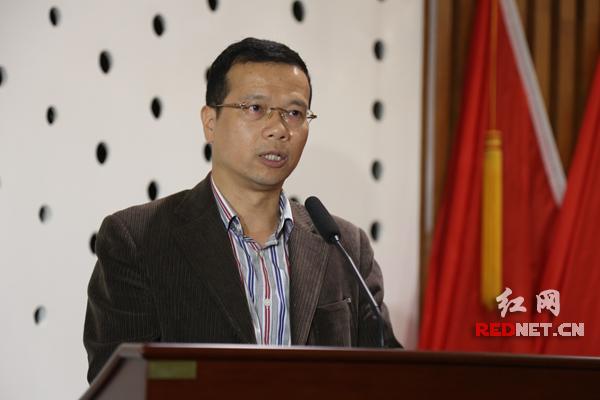 长沙市科技局总工程师盛湘饶出席并发言。