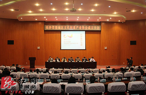长沙望城区文化创意产业协会成立