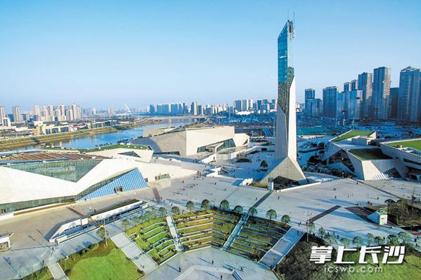 长沙三馆一厅:大地的建筑化延伸