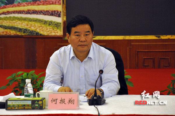 湖南省副省长、省工商联主席何报翔出席会议。
