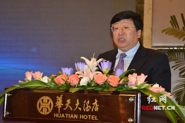 湖南省委常委、常务副省长陈向群出席会议并致辞。