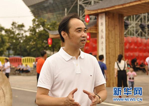 湖南省文化厅副厅长张帆王超摄