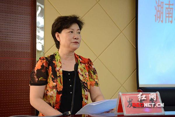 湖南省委党校副巡视员、湖南省县域经济研究会会长伍晓华致辞。