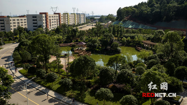 湖南外贸职业学院校园风光