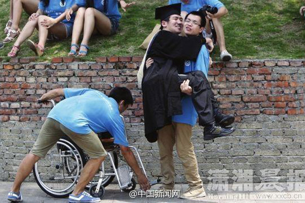 Young man with cerebral palsy ready to pursue PhD overseas