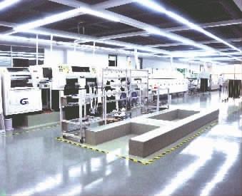 隆平高科技园企业生产车间.