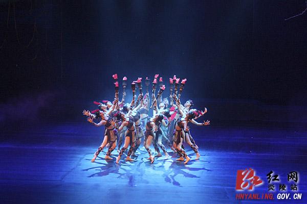 大型音乐舞蹈情景剧《炎帝》在株洲首演
