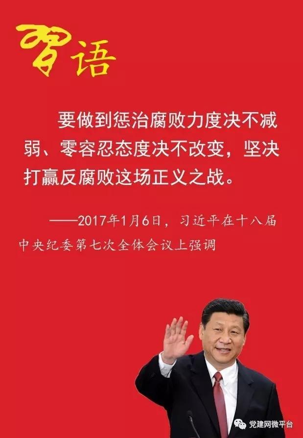 中纪委七次全会公报告诉你2017年反腐怎么干